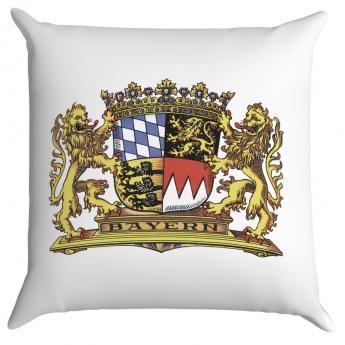 Bayern Kissen mit Wappen