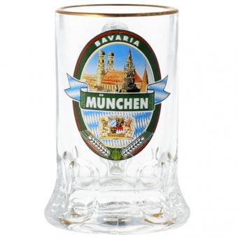 Mini Glaskrug 3,7 cl München Brauerei