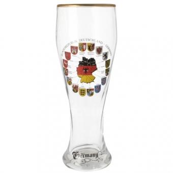Deutschland Bierglas Wappen 0,5 Liter