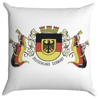 Kissen 40 x 40 cm Deutschland mit Fahnen