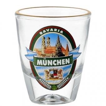 Stamperl mit Brauerei Emblem München