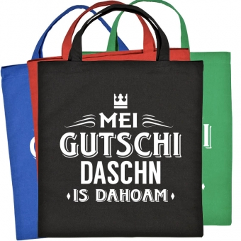 """Baumwolltasche """"Gutschi"""" versch. Farben"""