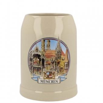 München Bierkrug 0,5 Glockenspiel