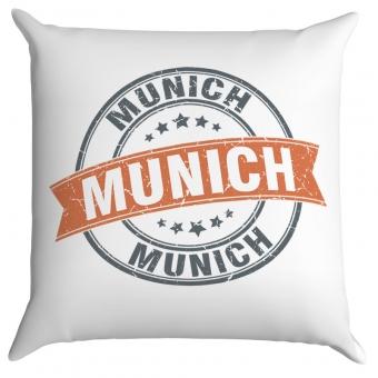 Kissen 40 x 40 cm bedruckt im Munich Design
