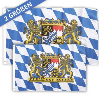 Bayern Flagge in 2 Größen erhältlich