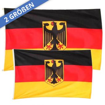 Deutschland Flagge in 2 Größen erhältlich