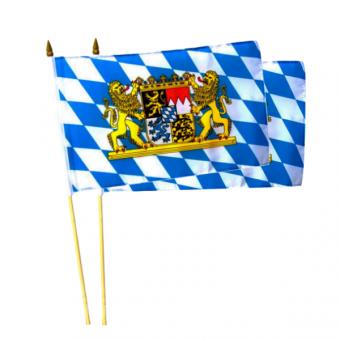 Bayerische Stockflaggen