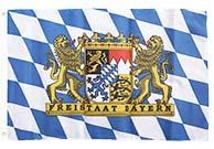 Bayern Flagge für deinen Garten
